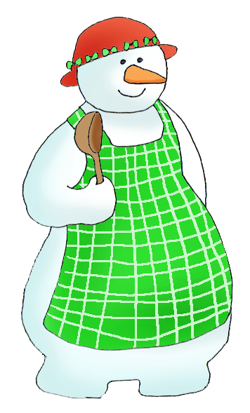 snowwoman clipart