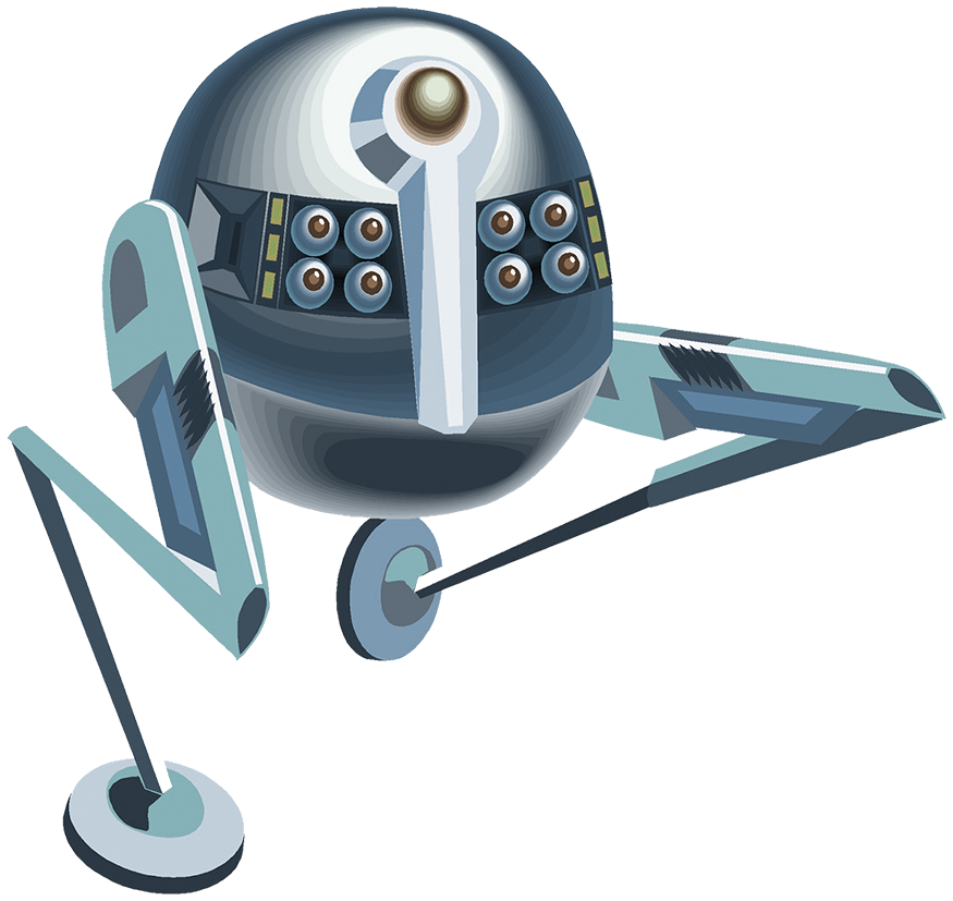 space robot clipart