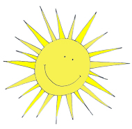 spring clipart happy sun