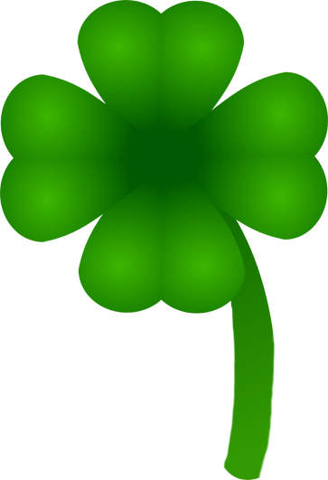 four leaved shamrock