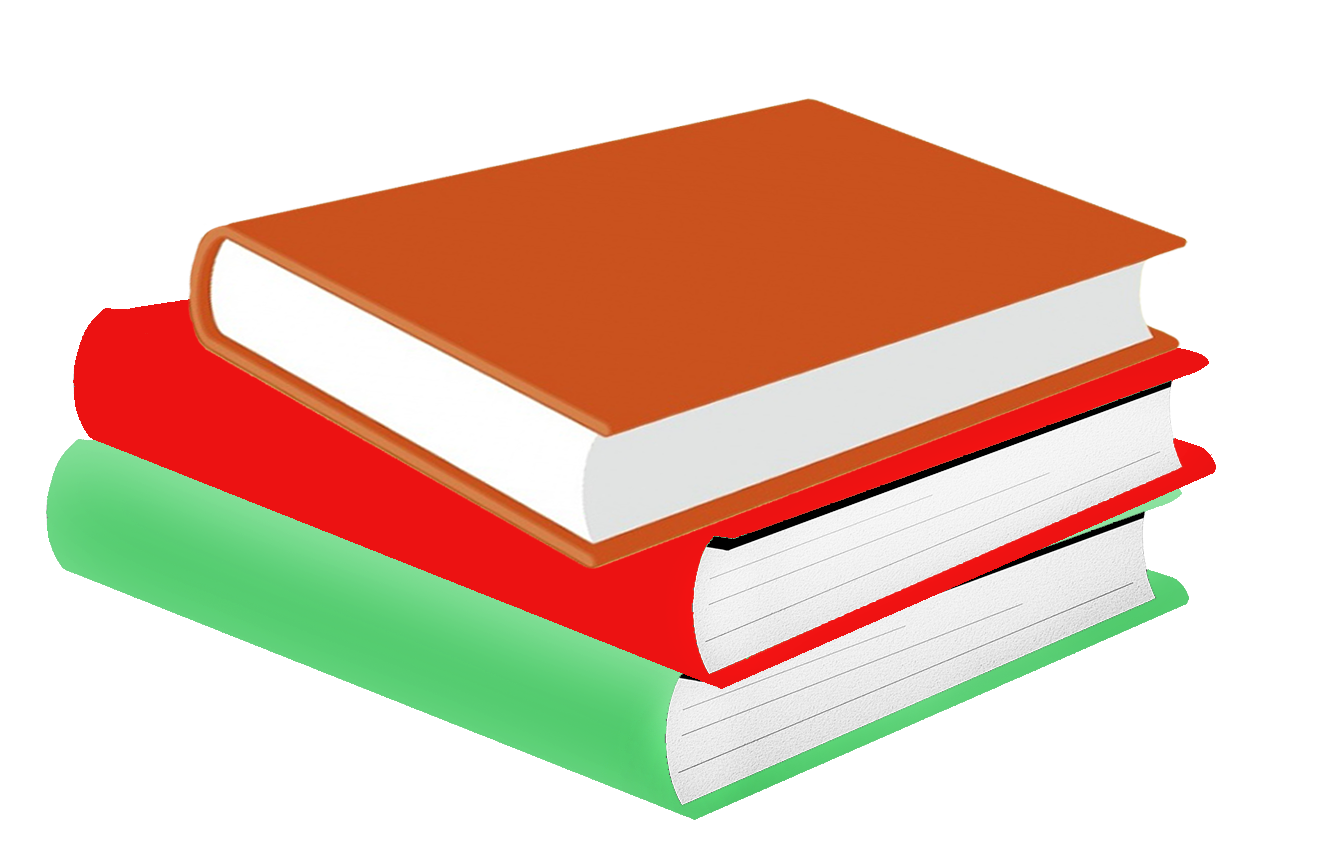stable of colored books