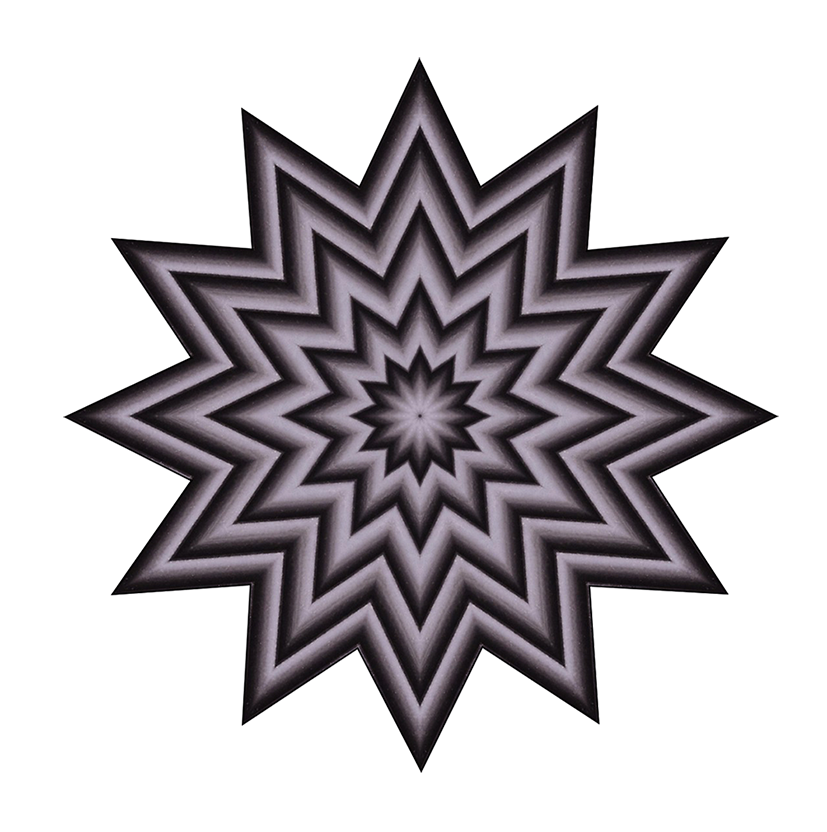 Star pattern drawing