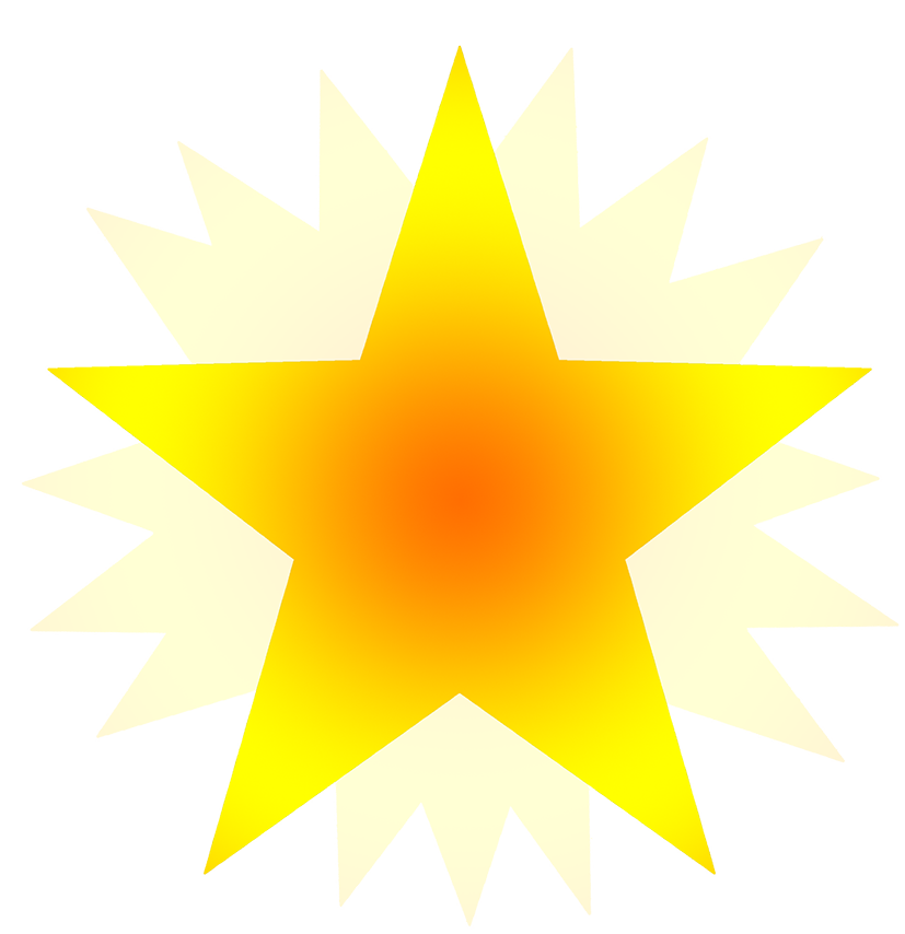 clipart stars on stars