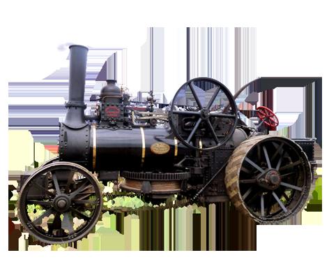 steam tractor clip art