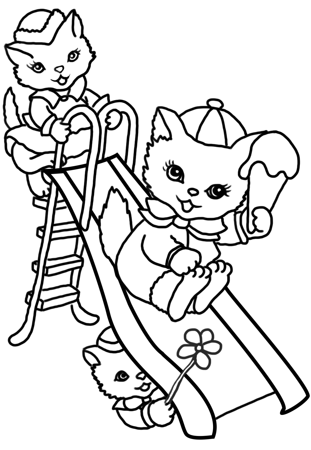 summer coloring book pages - photo#31