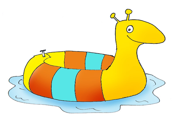 summer clipart bathing toy