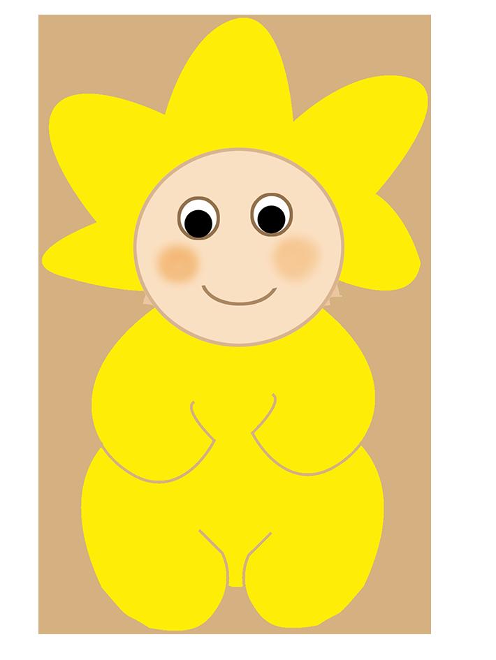 sun baby clipart