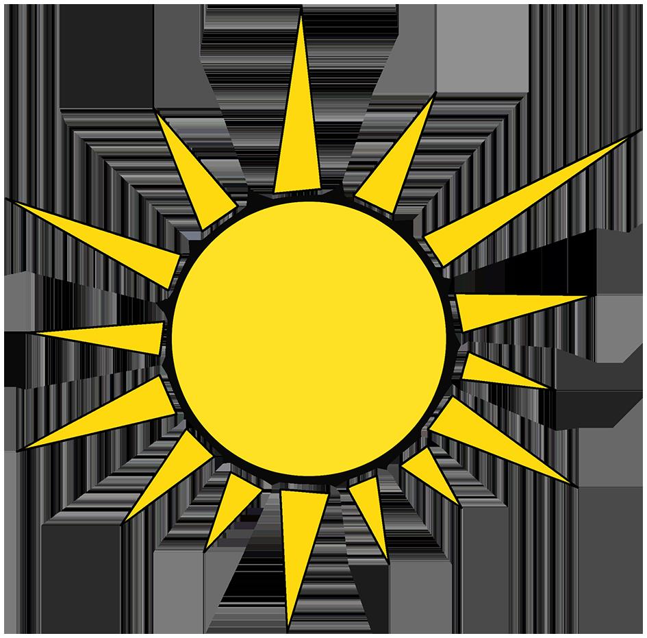 sun symbol sun rays