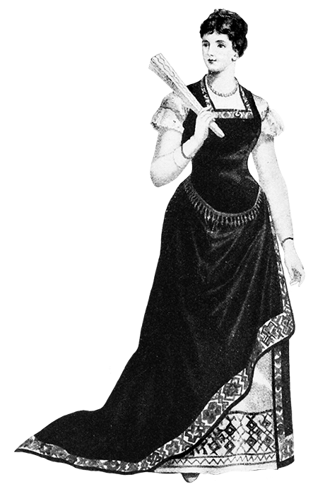 Swedish Victorian dress reform dress 1885