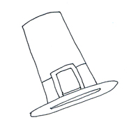 pilgrim hat clipart thanksgiving
