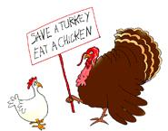 thanksgiving clipart turkey chicken