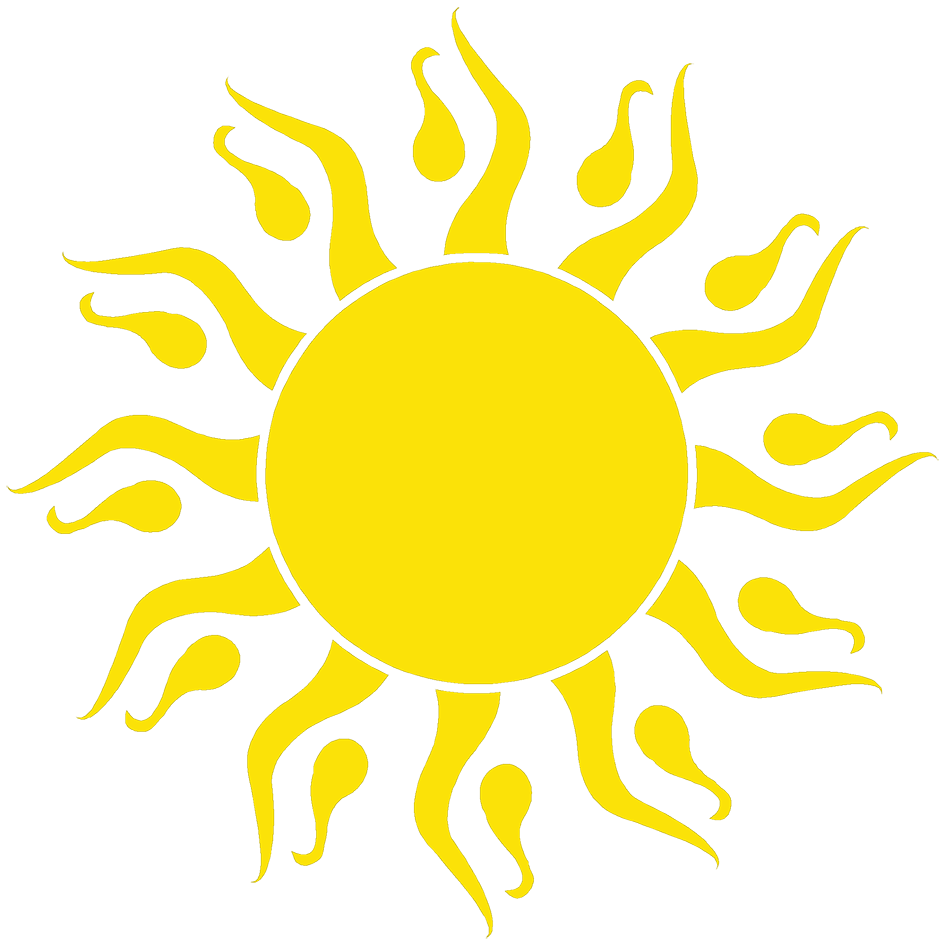 The sun clipart