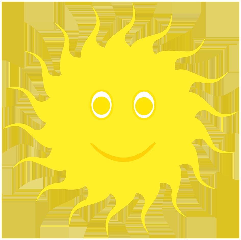 sun image smiling