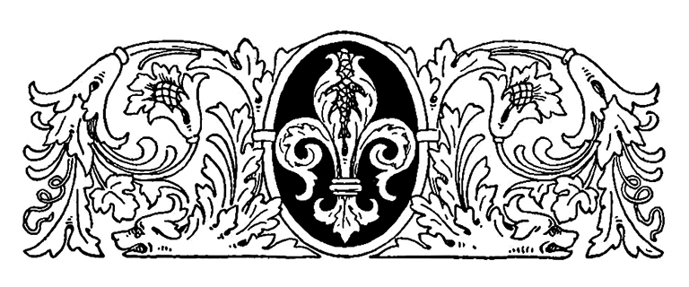 Victorian top page ornament