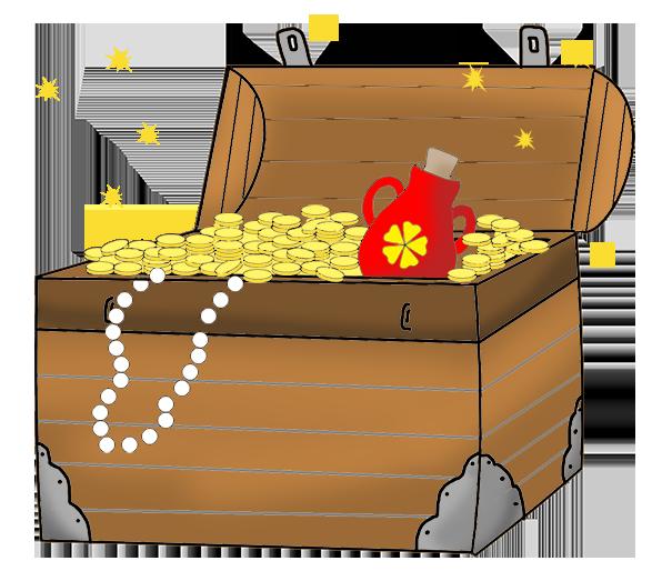 treasure chest for pirates