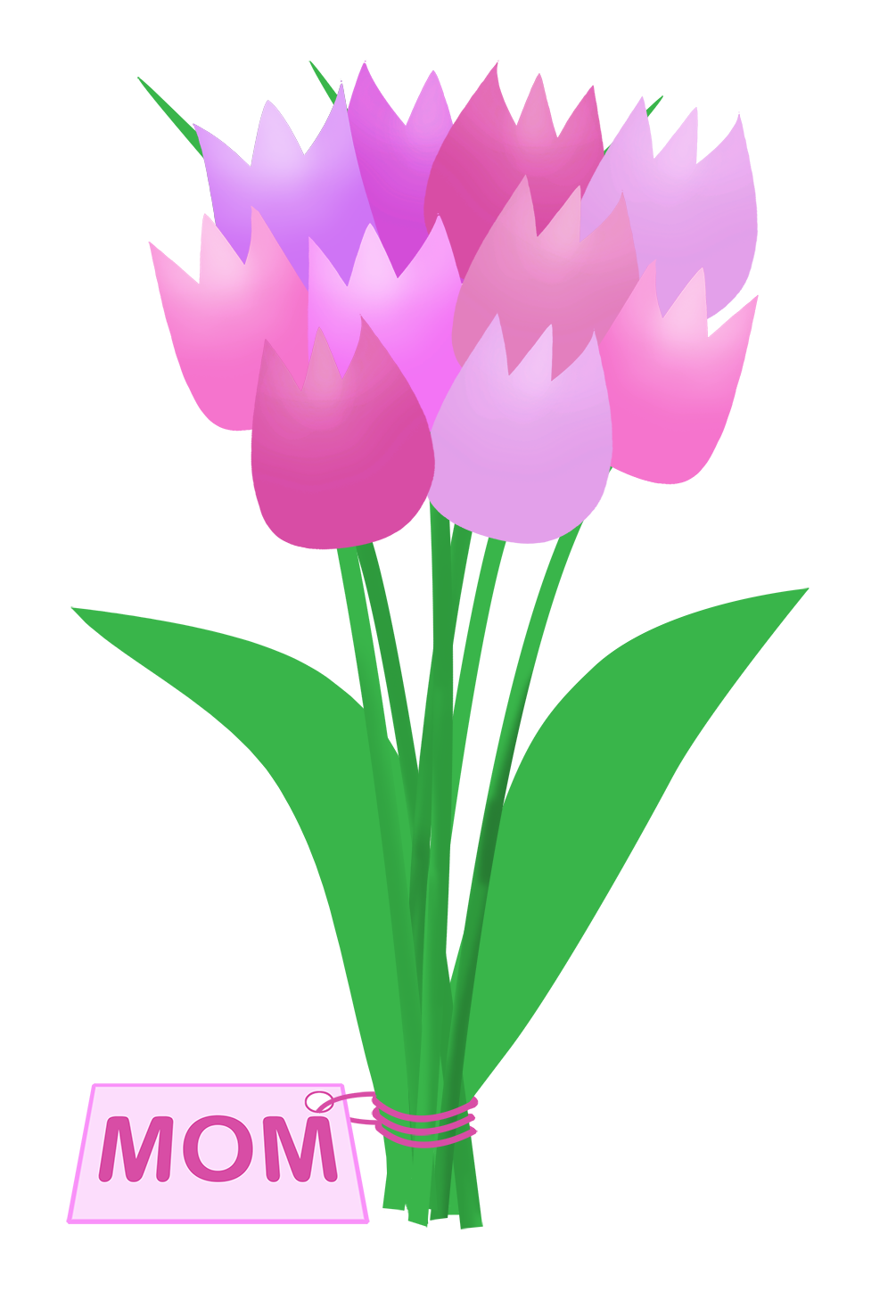 tulips for mom