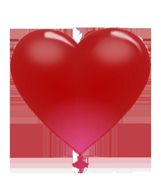 heart balloon for Valentine
