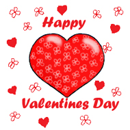 ... Valentine Clipart Heart In Green Box, Happy Valentines Day