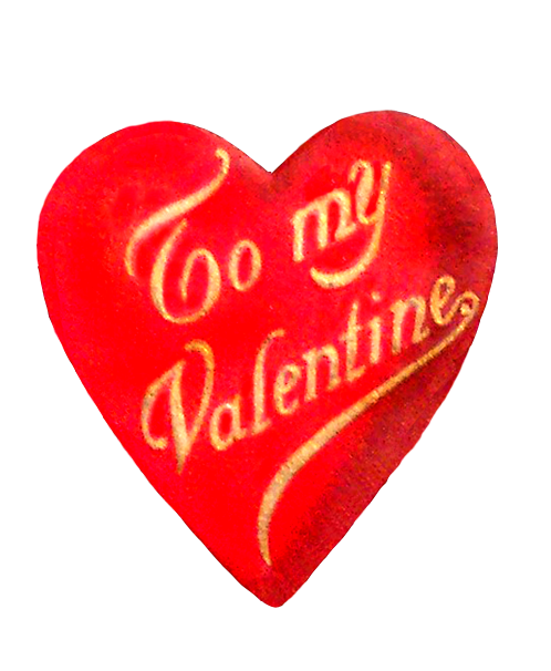 vintage Valentine's Day heart