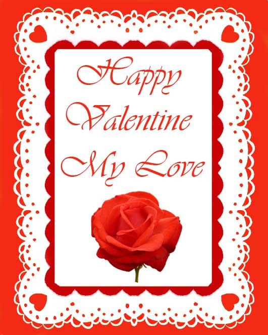 Valentines day cards valentines day cards for my love m4hsunfo