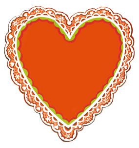 valentines day heart vintage