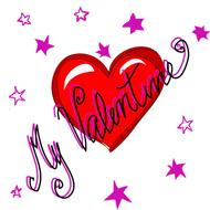 my valentine heart clipart