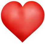 valentines day ideas red love heart