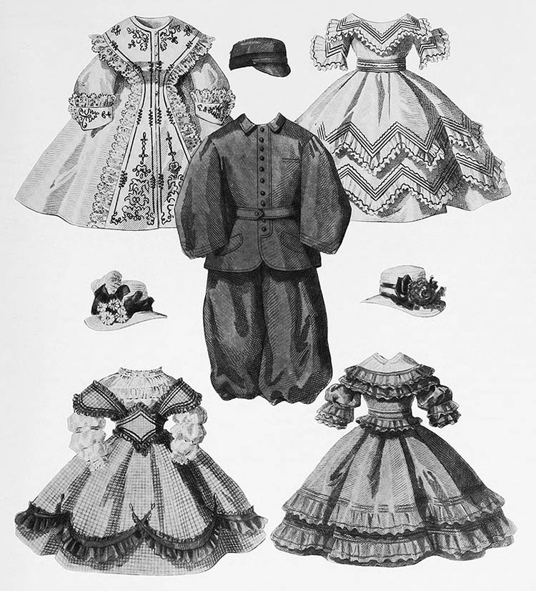 An overview history of children's clothing provides insights into changes in child-rearing theory and practice, gender roles, the position of children in society, and similarities and differences between children's and adults' clothing.