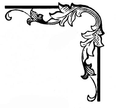 victorian element for corners