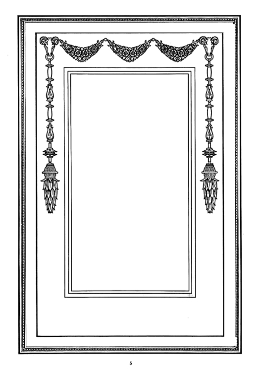 classic Victorian frame