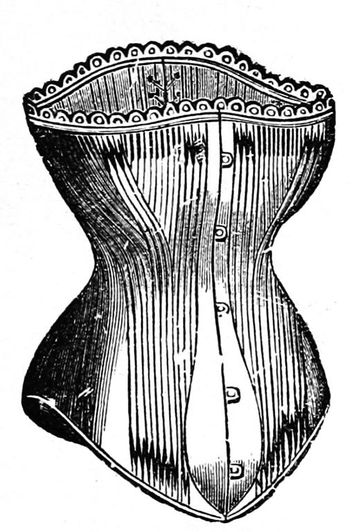 Victorian lingerie fashion