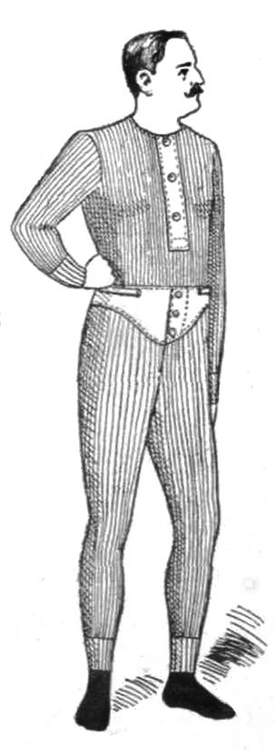 Victorian mens' underwear