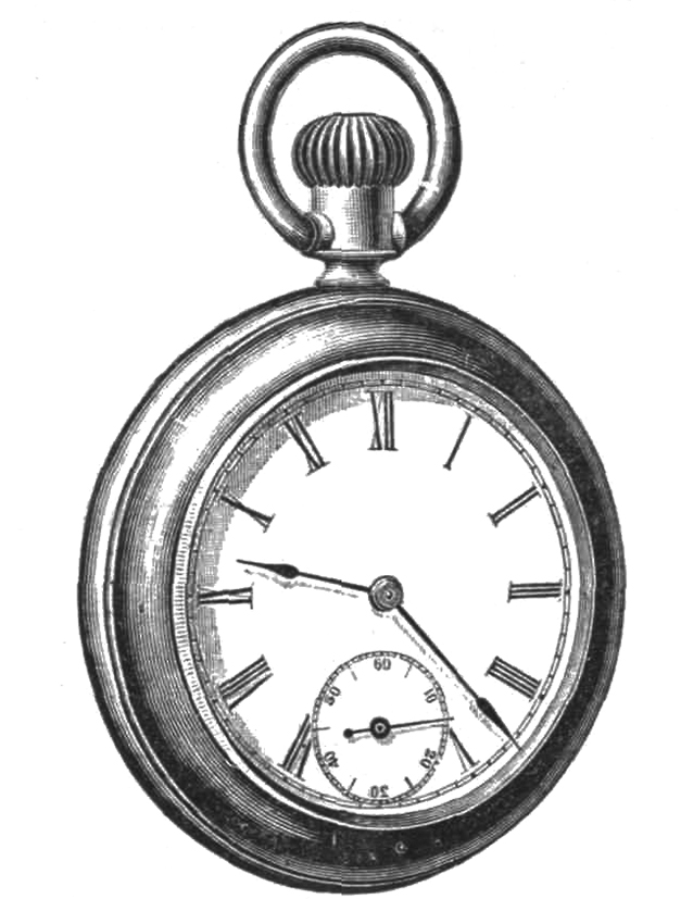 Victorian pocket watch for young men