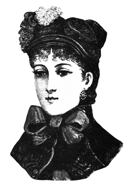 Victorian woman's hat 1882
