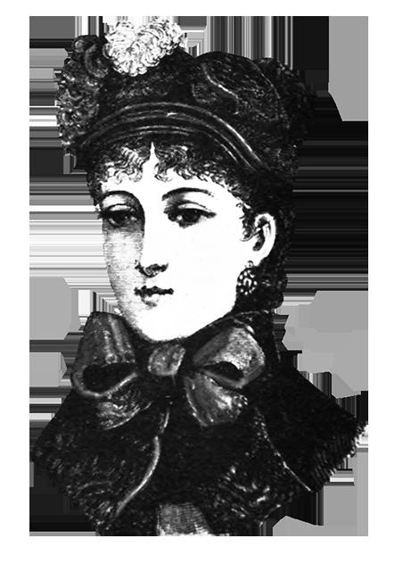 Victorian woman's hat 1882