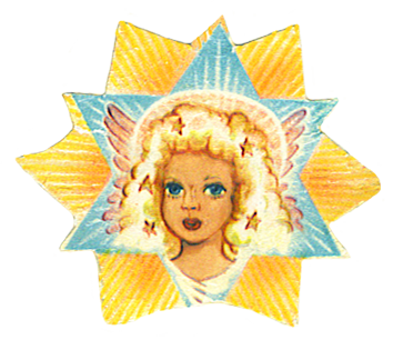 vintage angel star