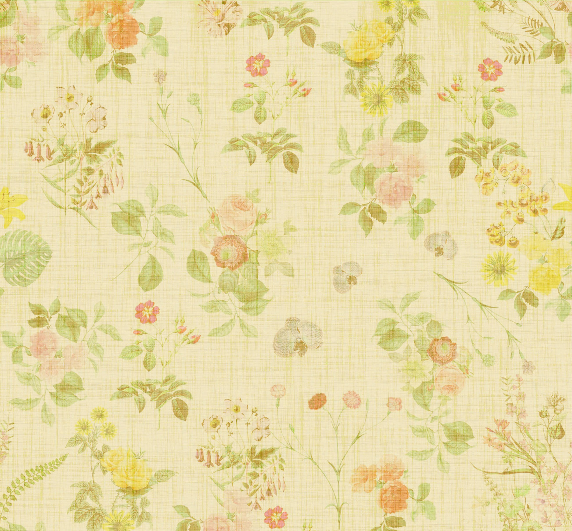 floral vintage background for scrapbooking