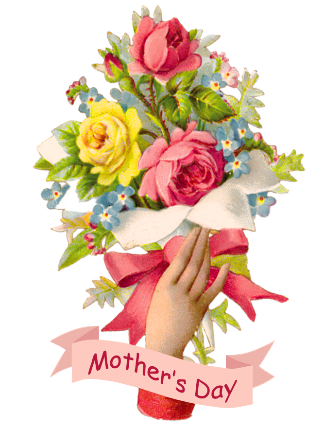 vintage mother's day bouquet