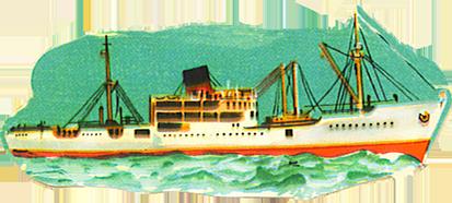 vintage clip art ship