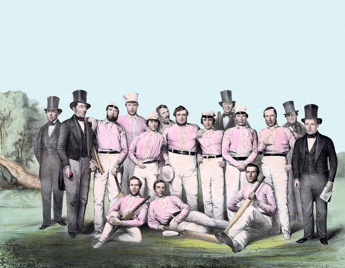 vintage cricket team