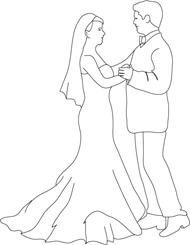 Wedding Clipart - Make your own Wedding Invitations