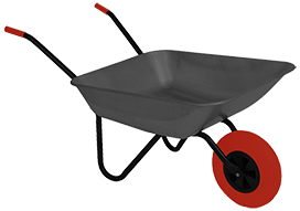 wheelbarrow clipart