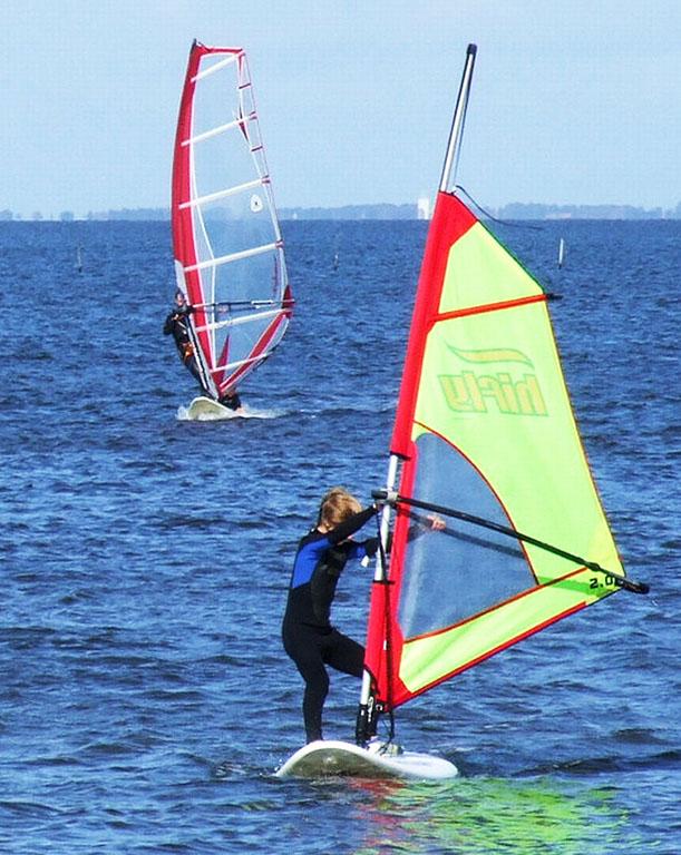 windsurfing clipart
