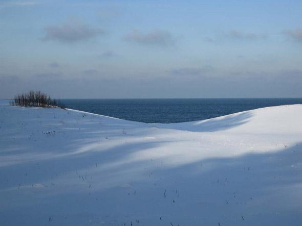 winter clipart snow sea