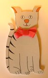 cute cat birthday invitation
