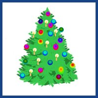 Clip Art Christmas Tree.Christmas Clip Art