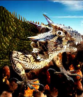 dragon clipart desert dragon