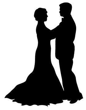 dancer silhouette waltz