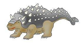 types of dinosaurs ankylosaurus