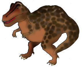 Tyrannosaurus rex in color